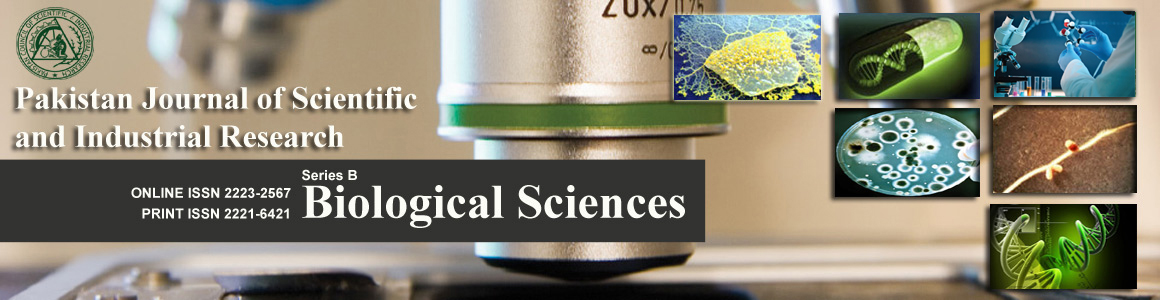PJSIR Biological Sciences Banner